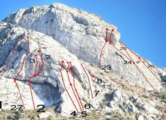 Freeclimbing San Bartolomeo